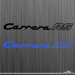 Autocollant Carrera RS