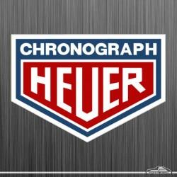 Autocollant Chronograph Heuer