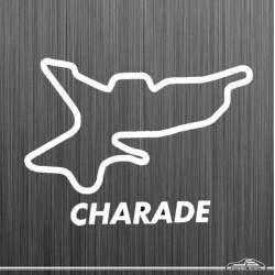Autocollant circuit de Charade