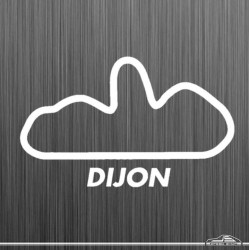 Autocollant circuit Dijon