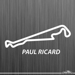 Autocollant circuit Paul...