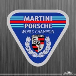 Autocollant Martini Porsche