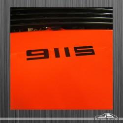 Logo 911 T, 911 E, 911 S