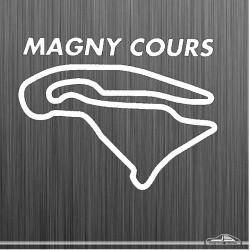 Autocollant circuit Magny...